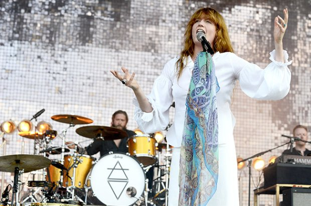 MANCHESTER, TN - JUNE 14:  Florence Welch of Florence and the Machine performs during the 2015 Bonnaroo Music & Arts Festival on June 14, 2015 in Manchester, Tennessee.  (Photo by Tim Mosenfelder/Getty Images)